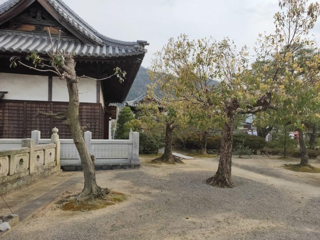 79番天皇寺の庭木