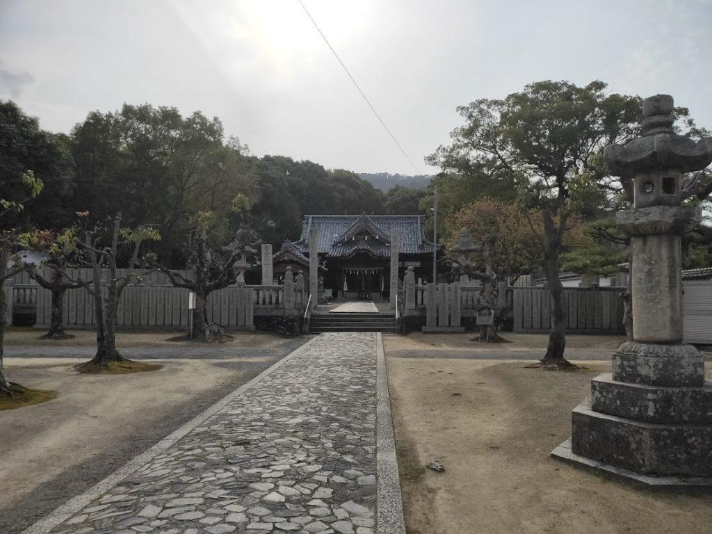79番天皇寺の景色