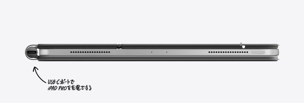 ipadproのカバーとキーボード