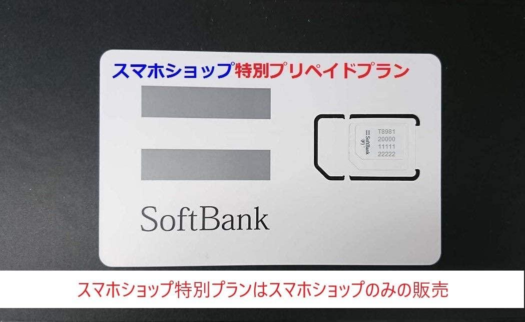 アマゾンのソフトバンク100GBSIM