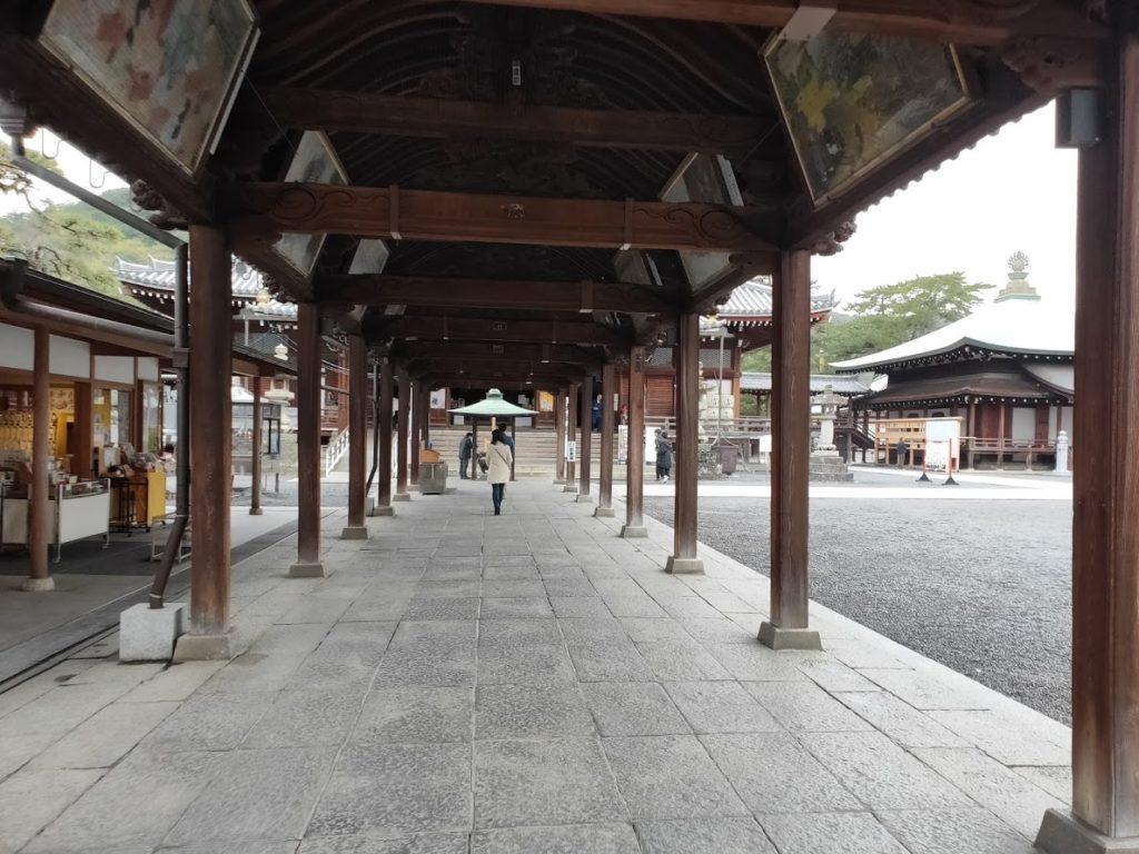 75番善通寺の廊下