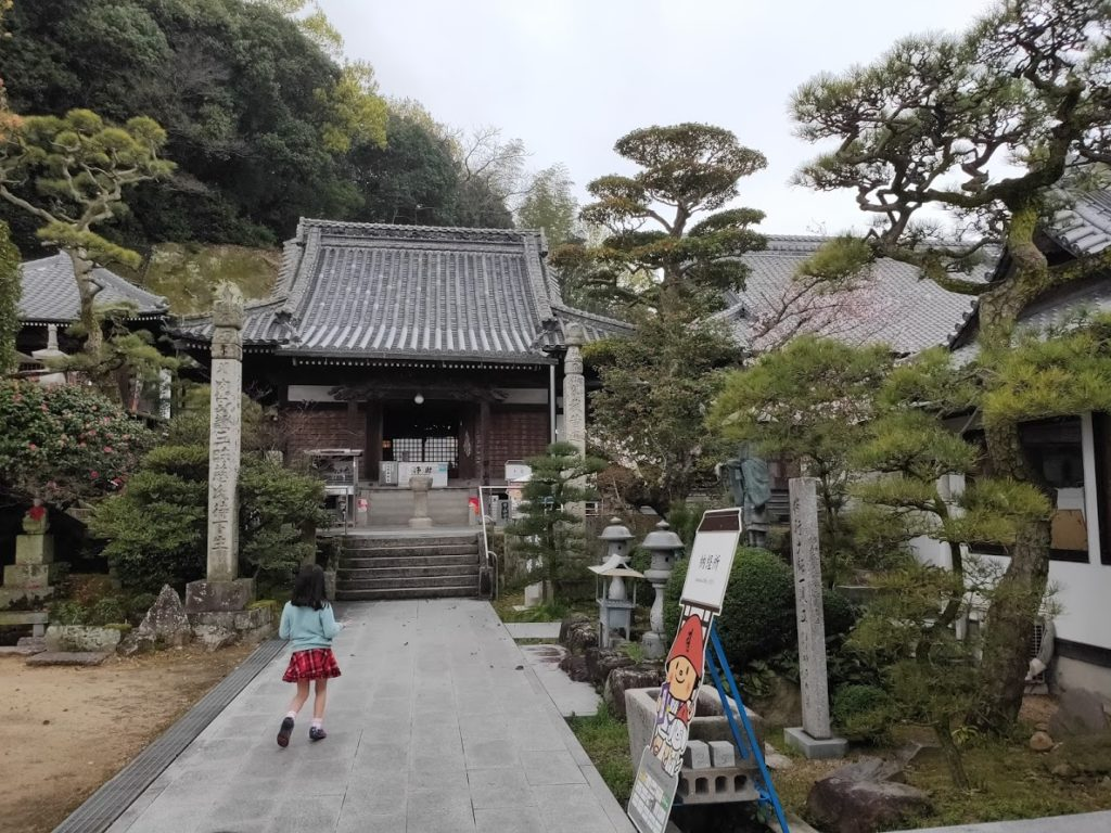 74番甲山寺の本堂
