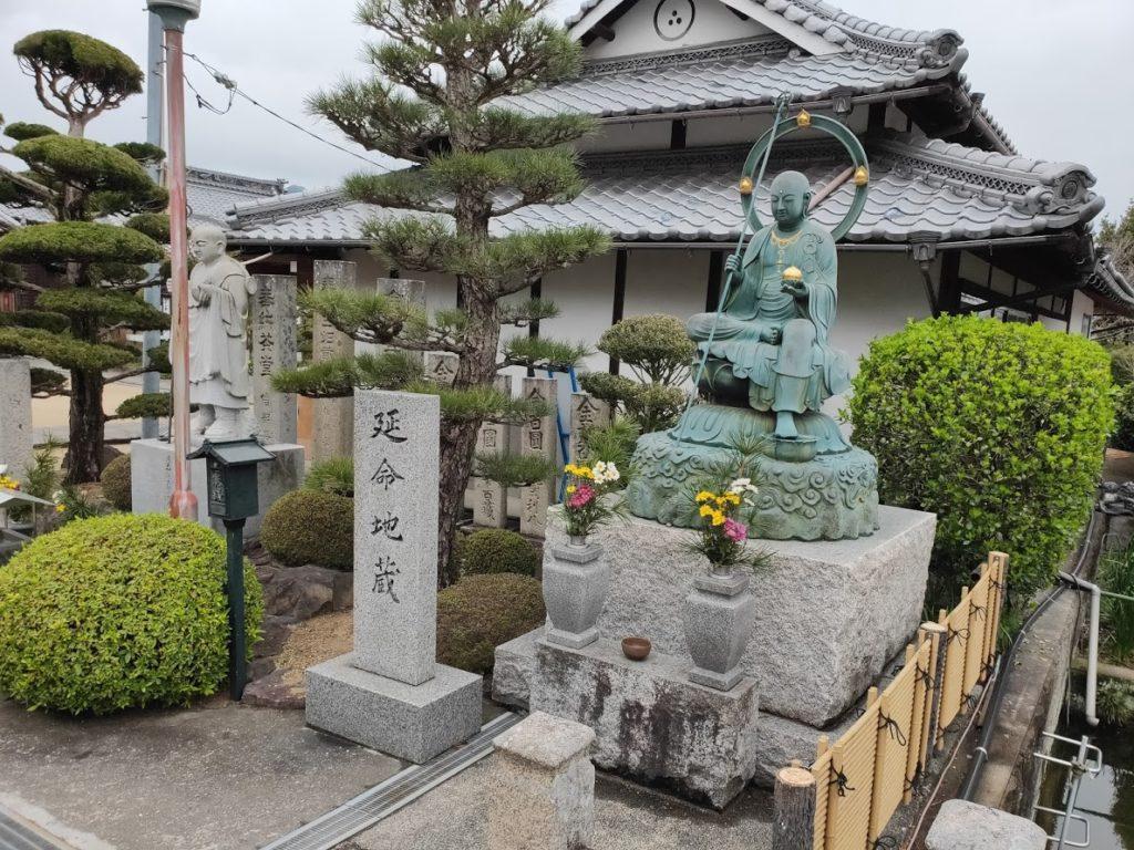 72曼荼羅寺の延命地蔵