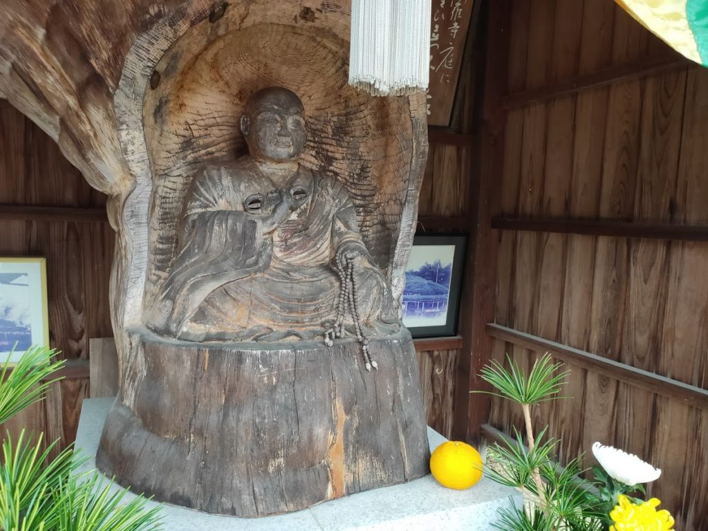 72曼荼羅寺の笠松大師