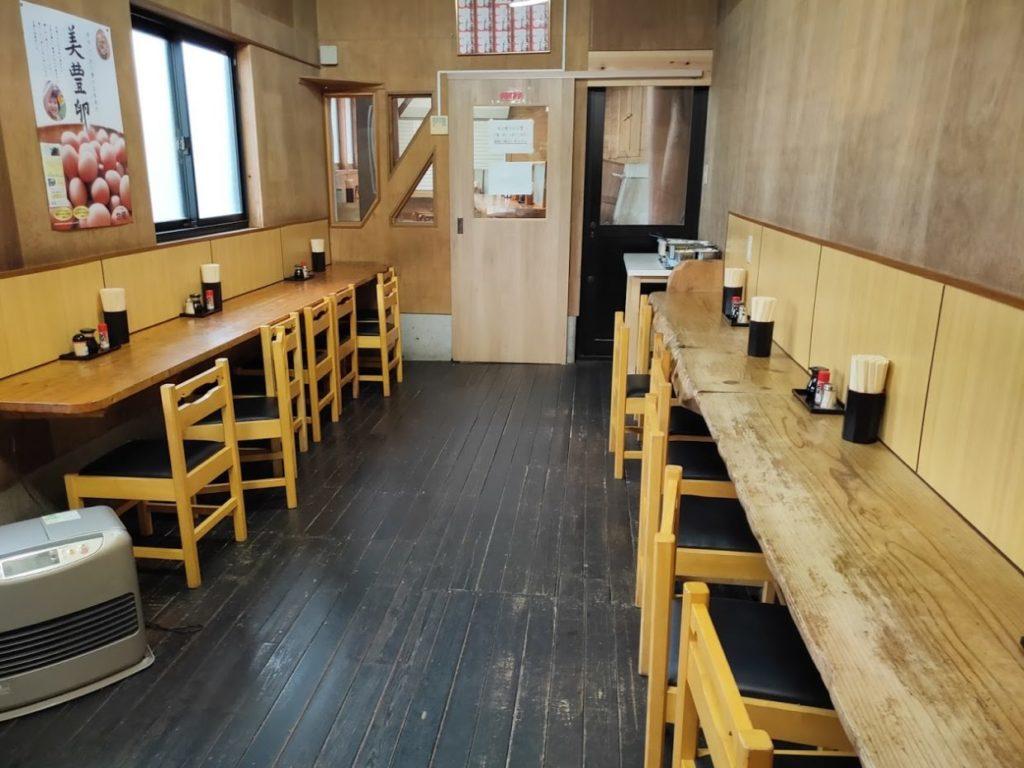 元祖鳥越製麺所の食べる場所