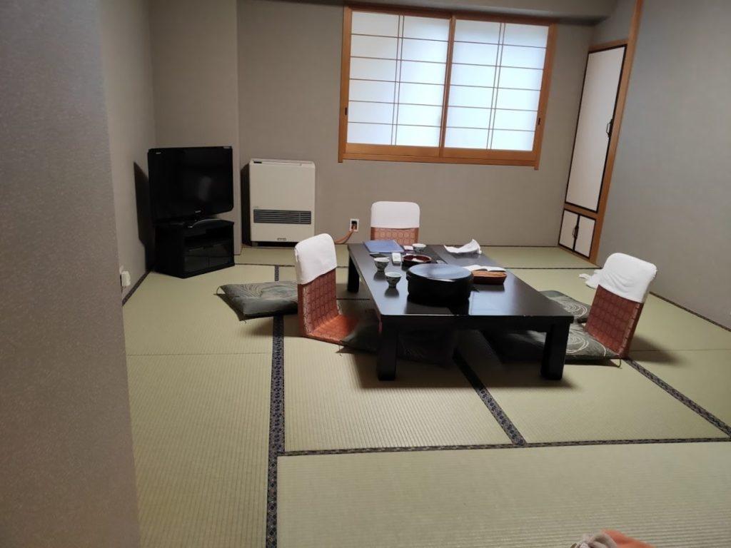 新祖谷温泉ホテルかずら橋の部屋