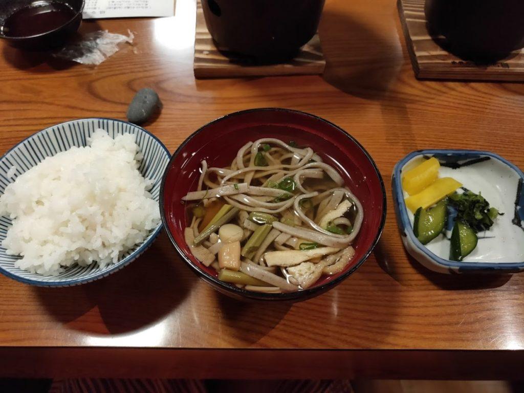 新祖谷温泉ホテルかずら橋の夕食9