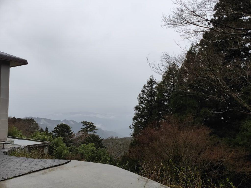 66番雲辺寺の景色