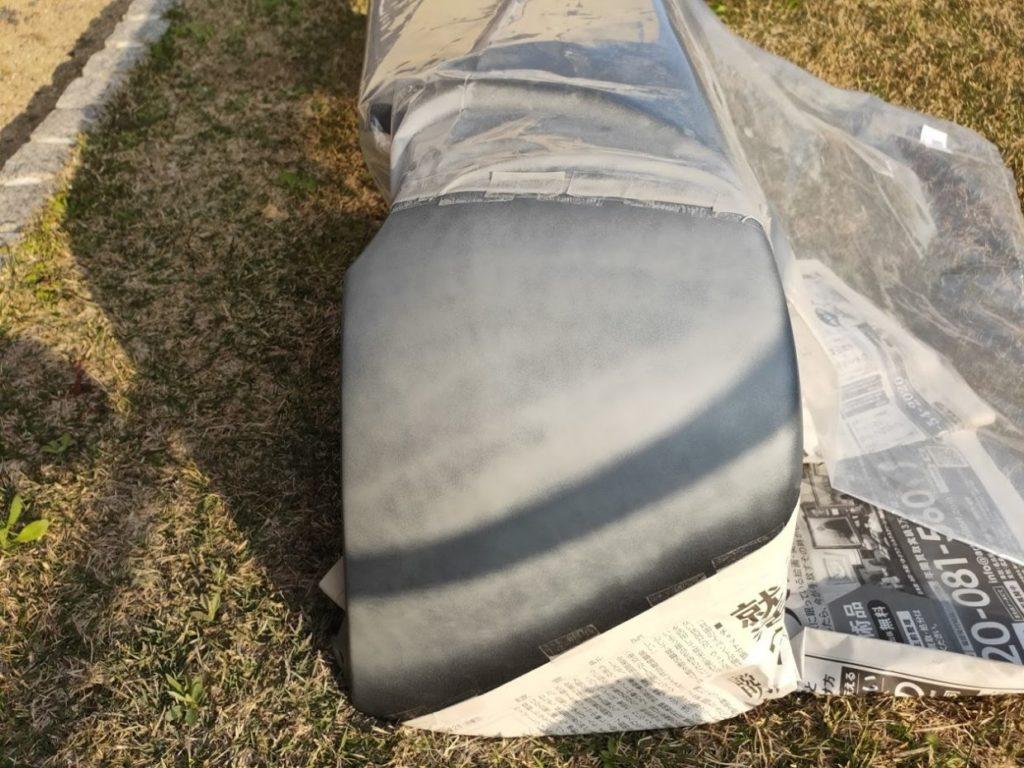 ハイエースバンパー塗装プラサフ3