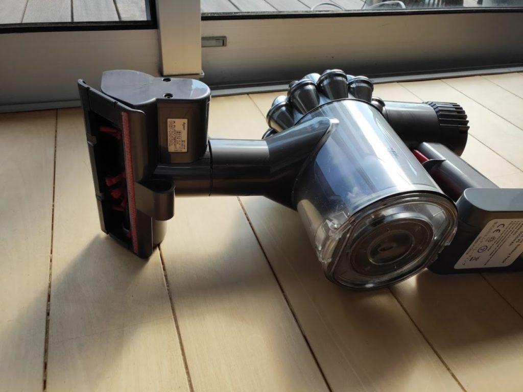 ダイソンDC62のミニモーターヘッド