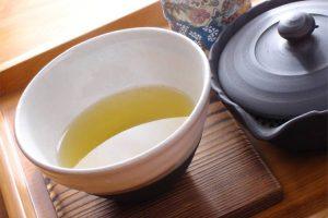 特上玄米茶(400円)