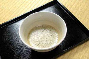 ほうじ挽き茶(400円)