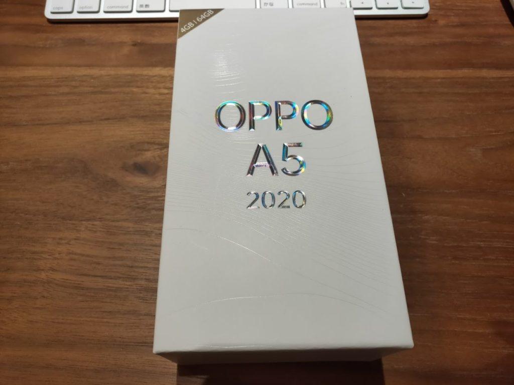 OPPOA52020の箱