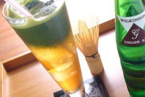 抹茶ジンジャー(500円)