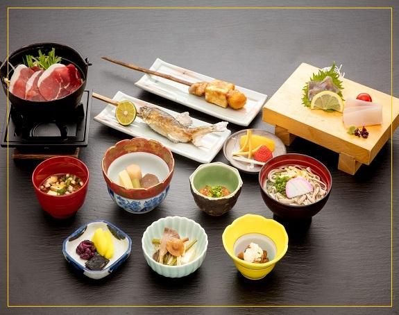 新祖谷温泉ホテルかずら橋の3500円メニュー