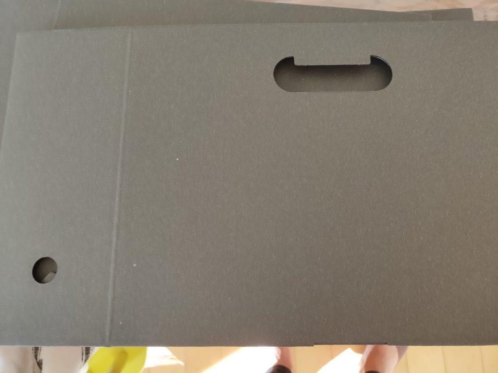 無印良品ダンボールファイルボックスの組み立て前