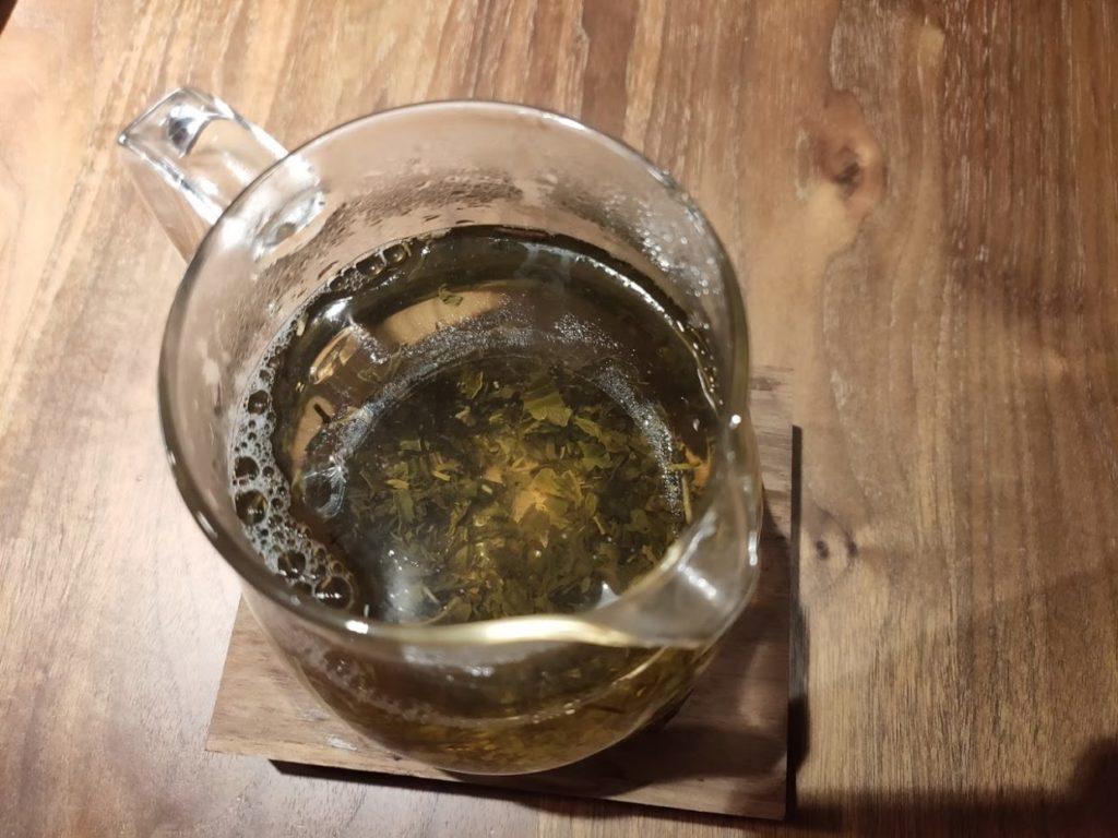 ジャスミン茶の完成2