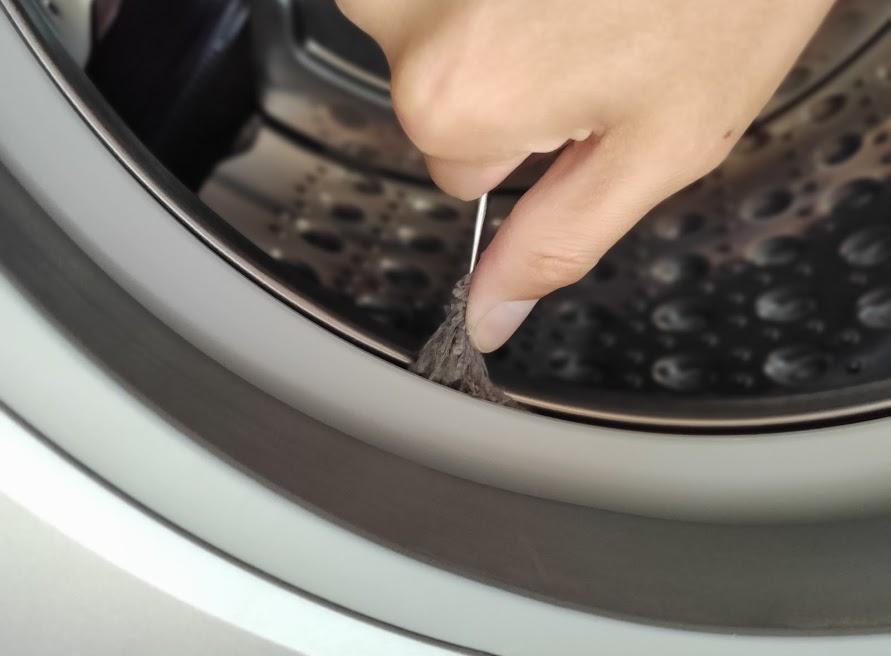 パナソニック洗濯乾燥機のゴミ取り方2