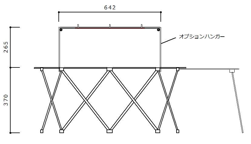 ネイチャーストーンズオクタゴンファイアテーブルのサイズ1