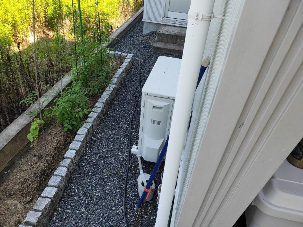 ケルヒャーK3サイレント延長ホースで2階へ3