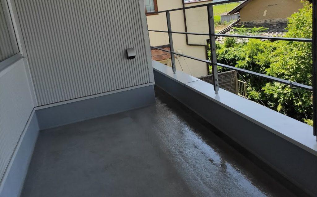 ケルヒャーK3サイレント延長ホースで2階を清掃した後1