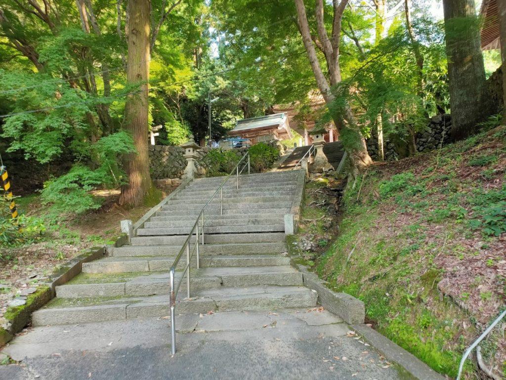 43番明石寺の入り口階段