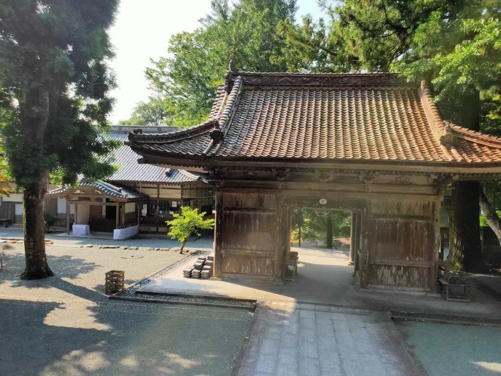 43番明石寺の境内の景色