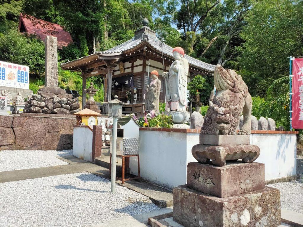41番龍光寺の境内の景色