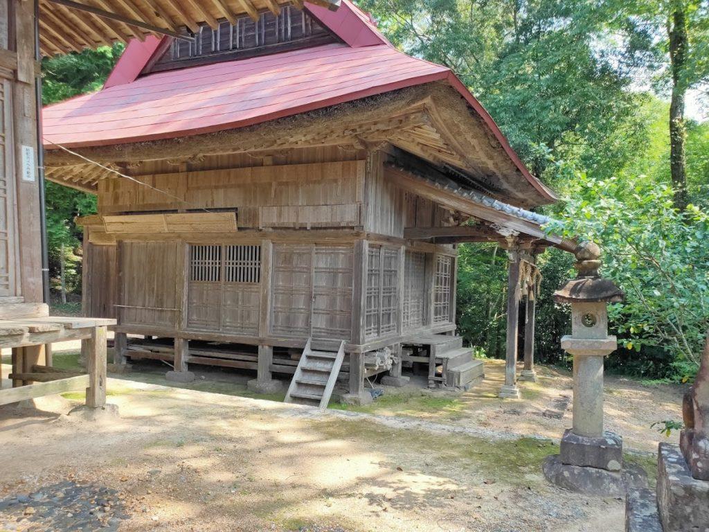 41番龍光寺の稲荷神社