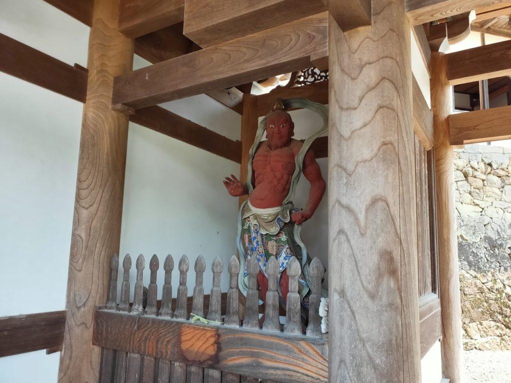 42番仏木寺の仁王