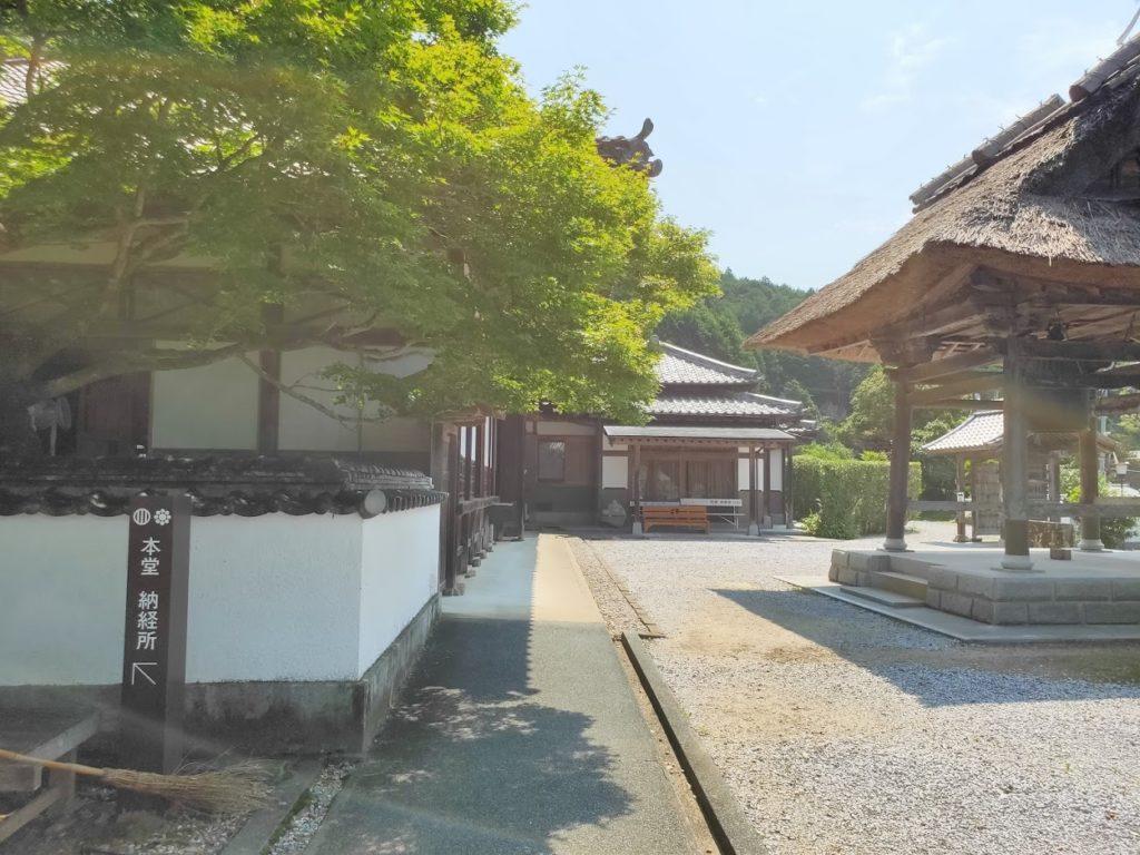 42番仏木寺の境内の景色