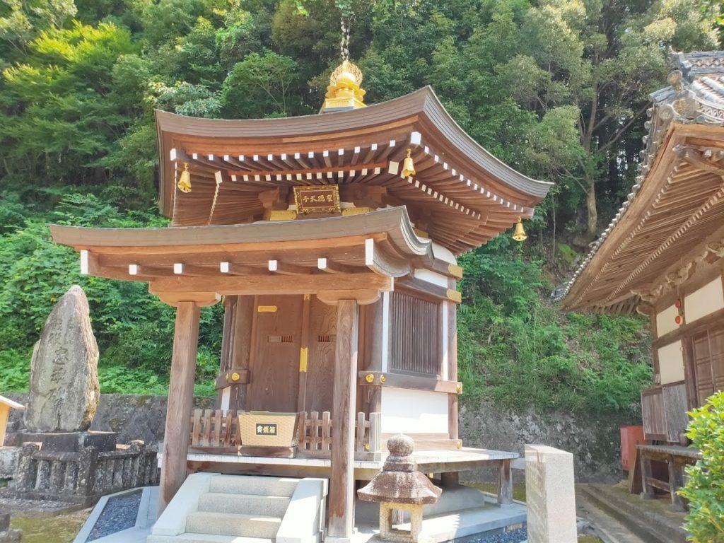 42番仏木寺の聖徳太子堂