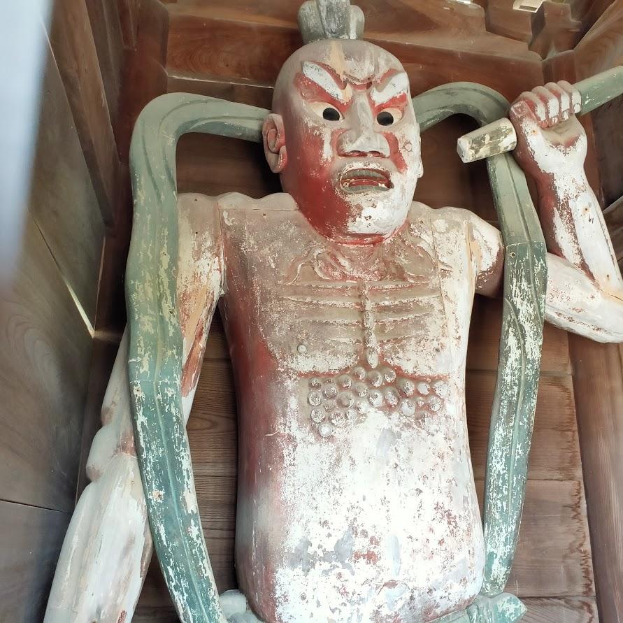 40番観自在寺の仁王