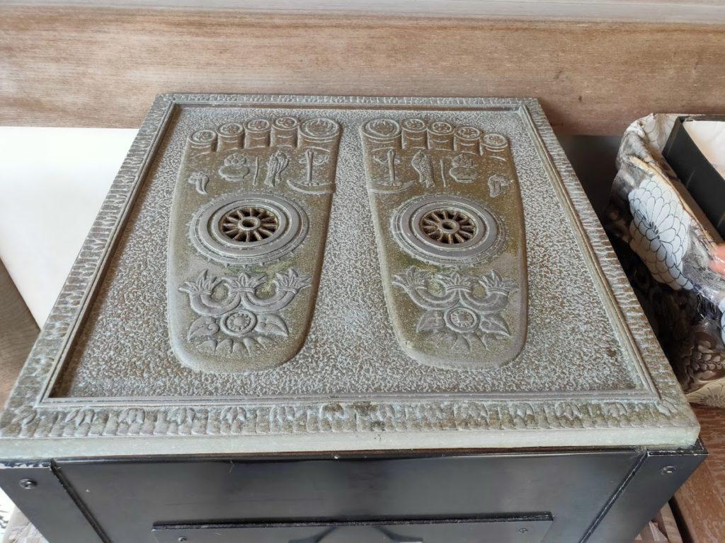 40番観自在寺の仏足