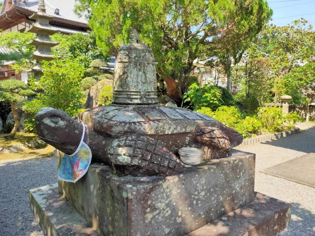 39番延光寺の赤亀