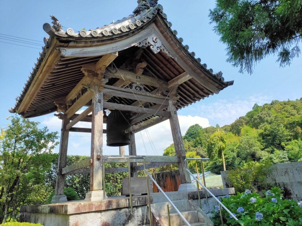39番延光寺の鐘楼