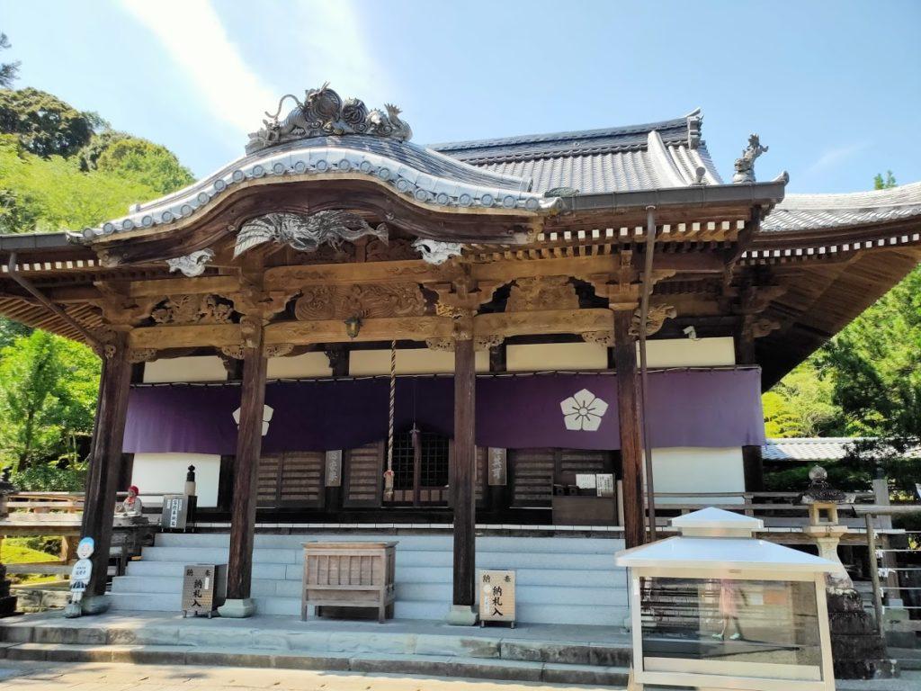 39番延光寺の本堂拡大画像