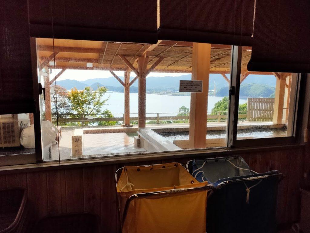 宿毛リゾート椰子の湯露天の景色