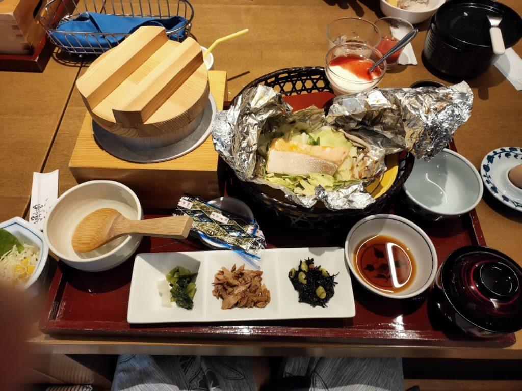 宿毛リゾート椰子の湯朝食1