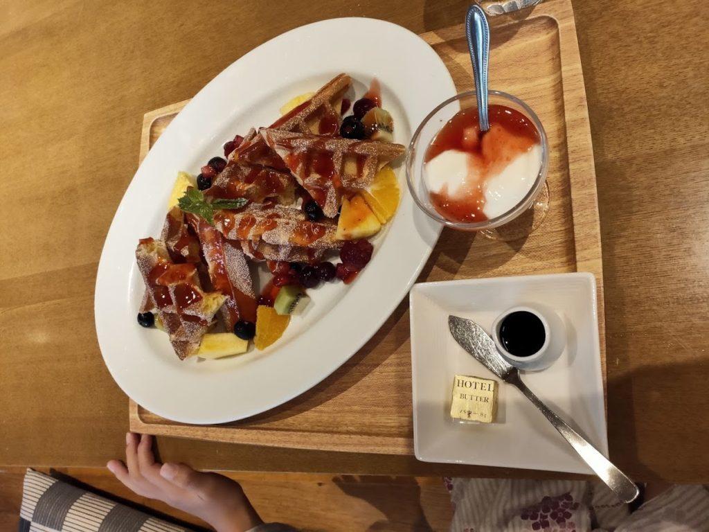 宿毛リゾート椰子の湯朝食2
