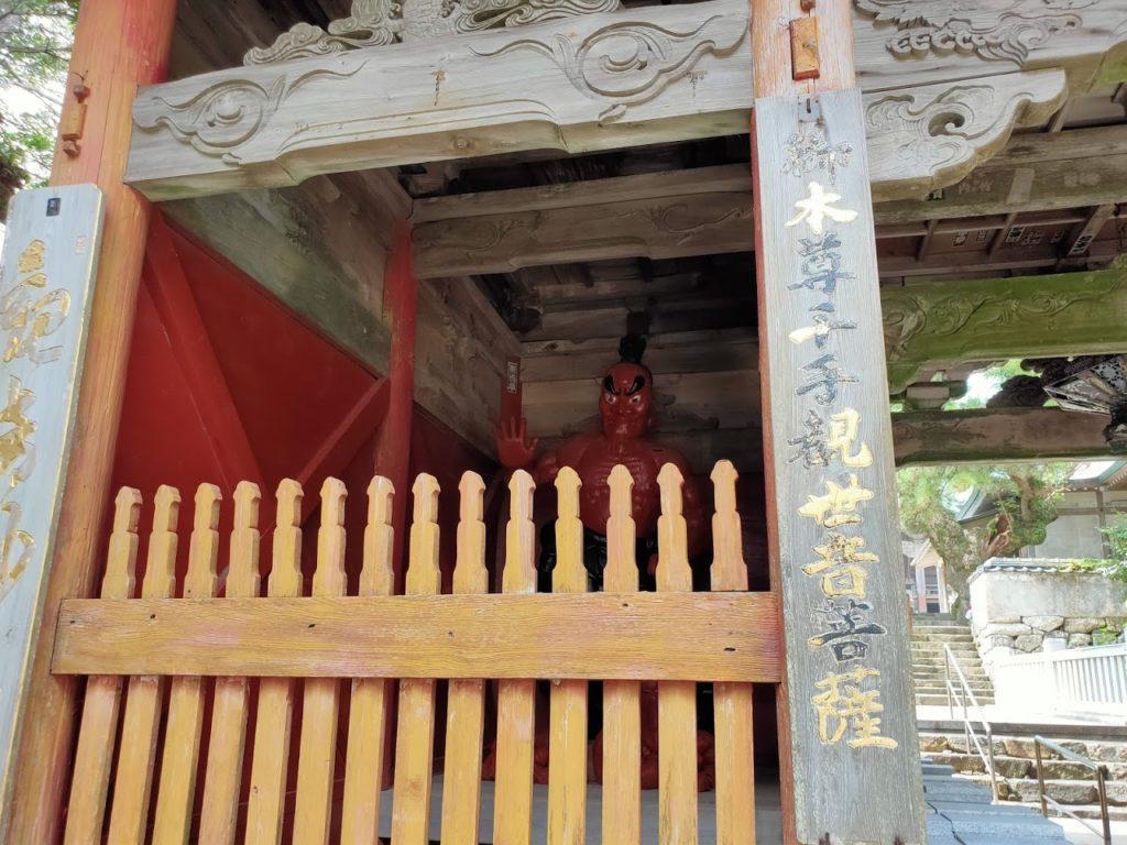 38番金剛福寺の仁王