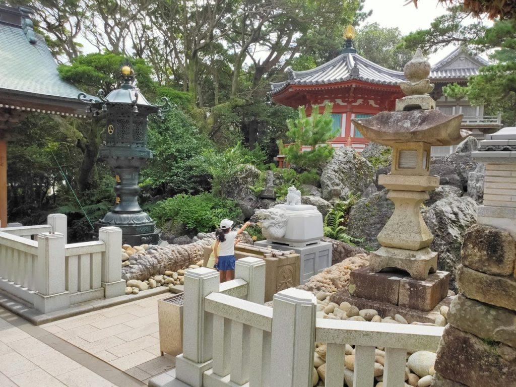 38番金剛福寺の手水場