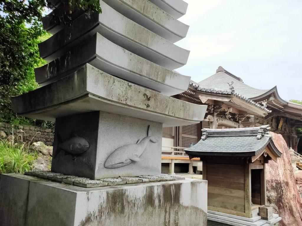 38番金剛福寺の石碑塔