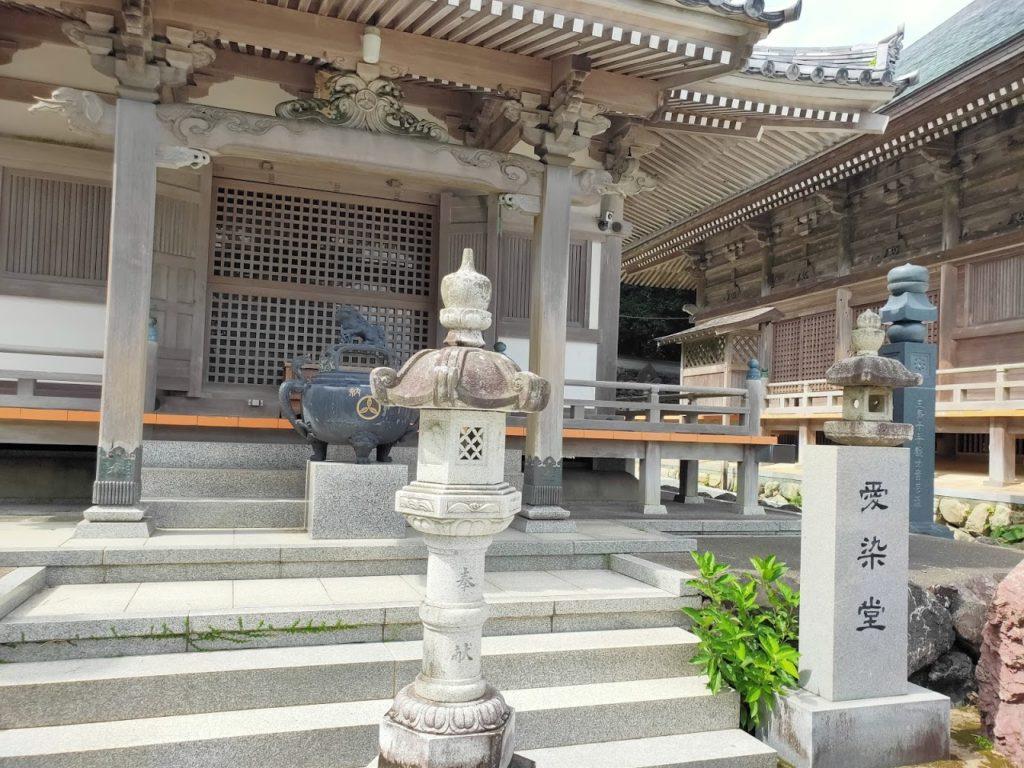 38番金剛福寺の愛染堂