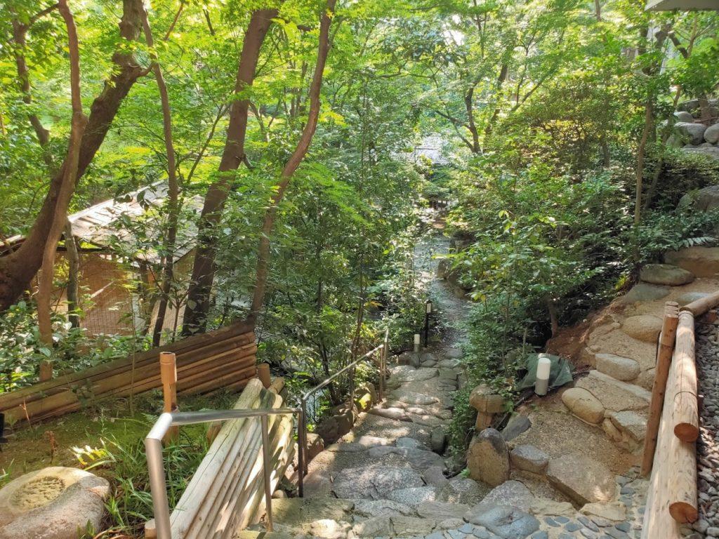 道後温泉ふなやの庭1
