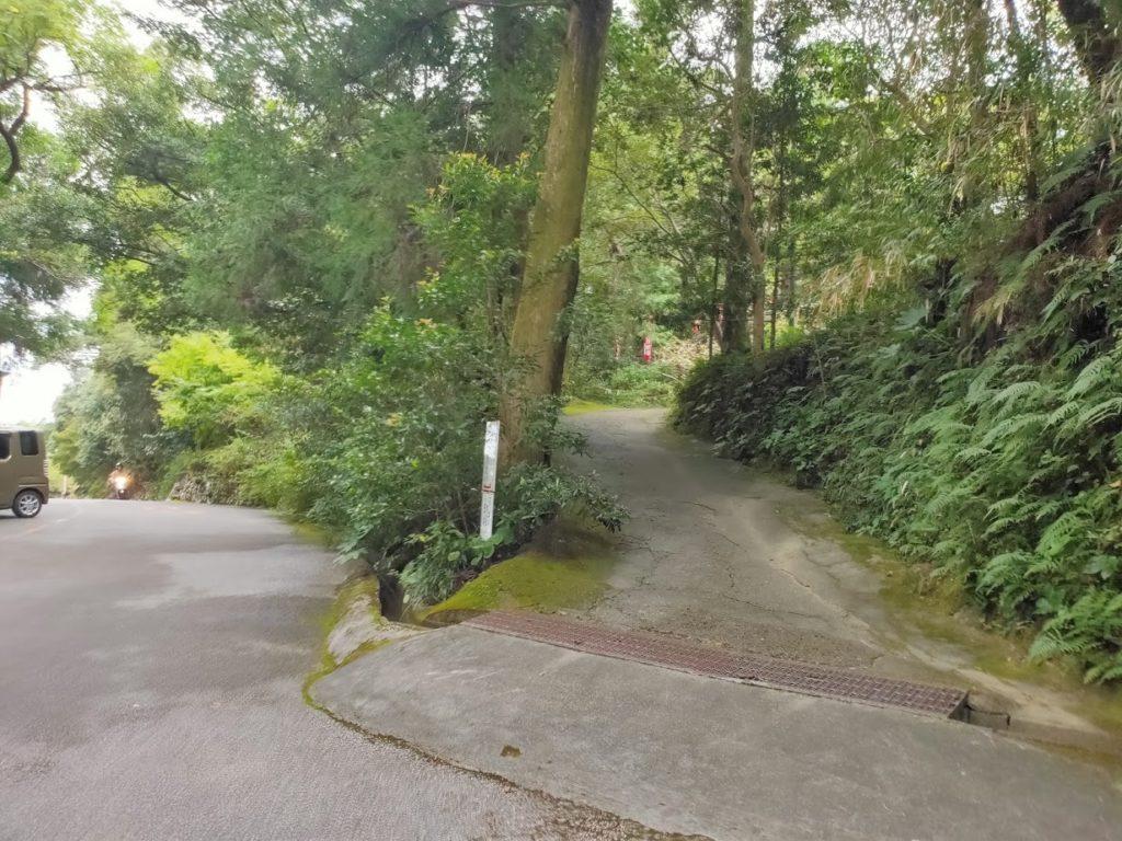 28番大日寺へ向かう道