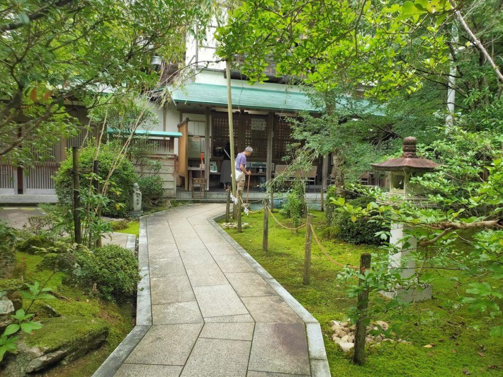 28番大日寺のきれいな庭