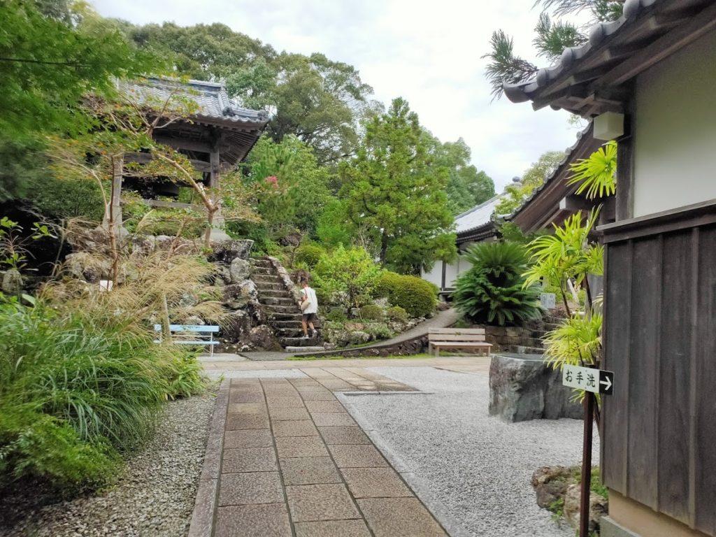 28番大日寺のお寺の鐘楼