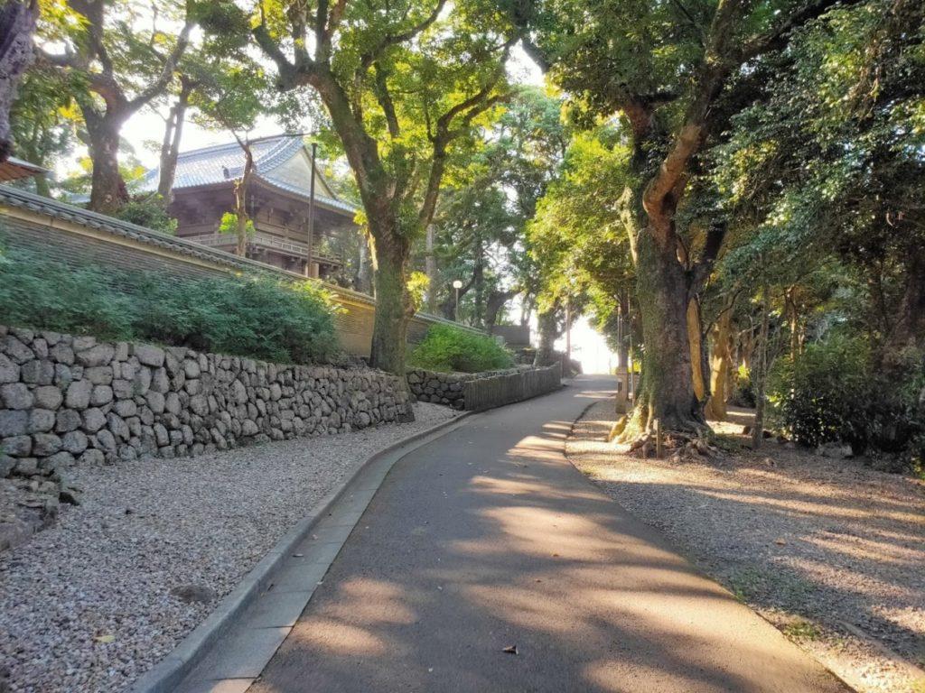 24番最御崎寺の寺へ向かう道
