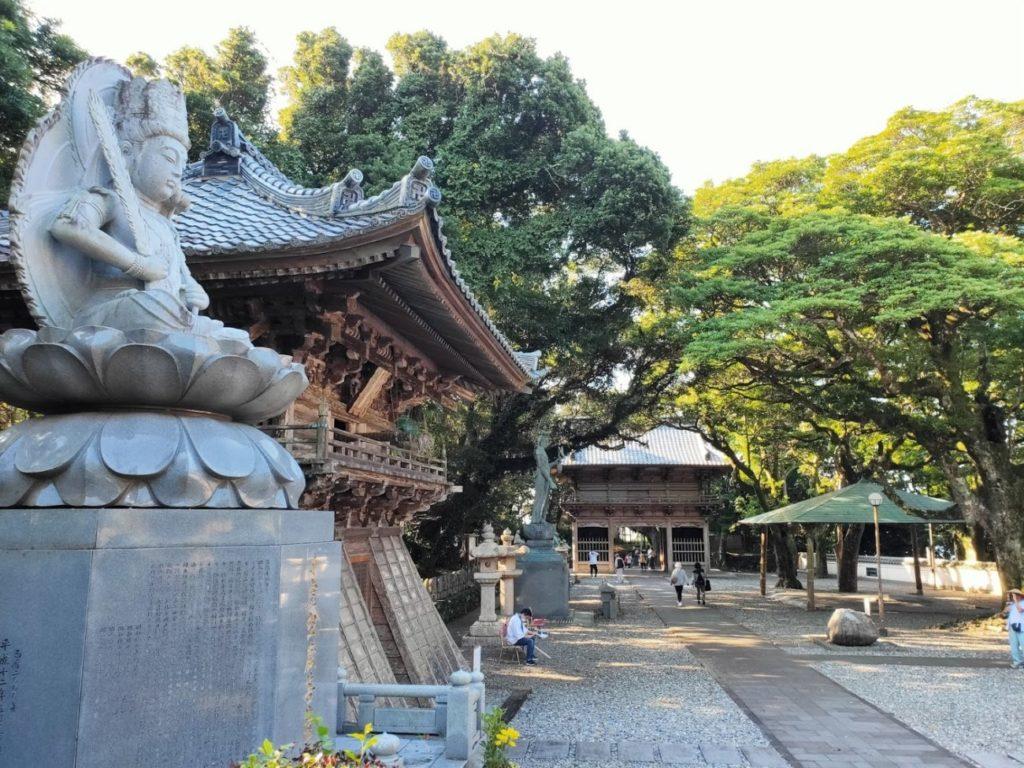 24番最御崎寺の景色